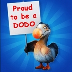 Proud to be a dodo sign 250