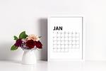 2018 free printable calendar small