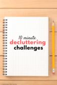 Decluttering challenges
