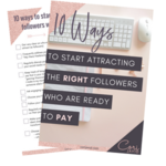 10 ways to start attracting the right followers thumbnail