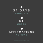 Affirmations cover page