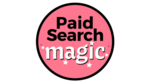 Paid search magic logo pink