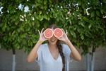 Grapefruit eyes