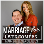 Marriage for overcomers podcast logo square small tiny