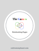 The games notebooking pages