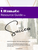 Ultimate resource guide for success