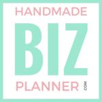 Handmadebizplanner logo mint
