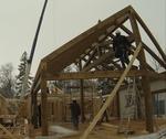 Pine creek house frame