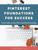 Pinterest foundations for success isabelle paquin
