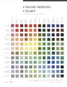 144 color chart screen shot