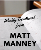 Weekly devotional from