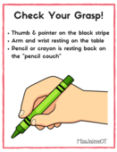 How to hold a crayon letter2
