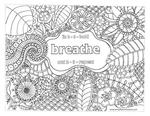Breathe h coloring page