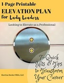 1 page printable elevation plan for lady leaders   small