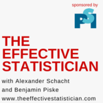Podcast cover the effective statistician final red (1)