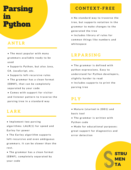 Parsing in python