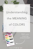 Understanding the meaning of colors