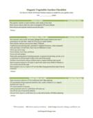 Year around organic garden checklist 400