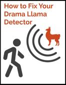 Drama llama image for new freebie