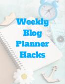 Weekly blog planner hacks cover   shot