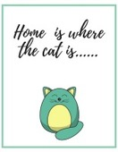 Home is where the cat is image 155x200