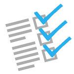 Small checklist