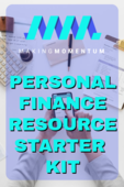 Personal finance resource starter kit tile