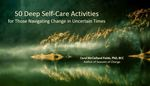 50 deep self care activities for uncertain times cover image