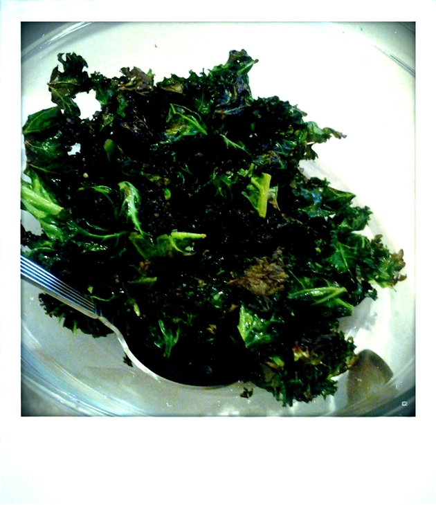Garlic-Roasted Crispy Kale by alchemisty