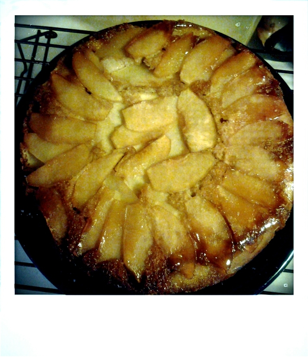 Ginger Apple Upside Down Cake by alchemisty
