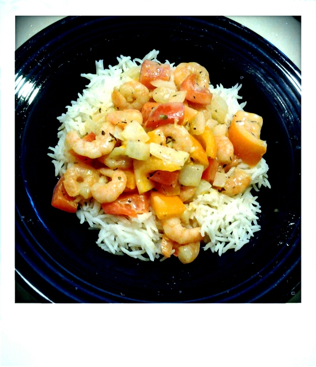 Creole Shrimp and Rice by alchemisty