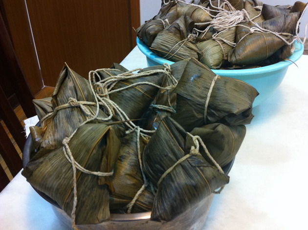 Zongzi 粽子 With No Bamboo Leaves by Amah
