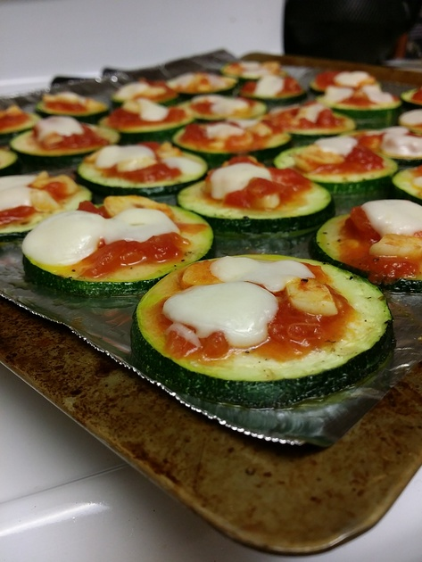 Zucchini Pizza by Sarah Xiong