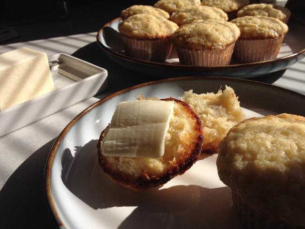 Sweet Muffin with Banana by car2ngrl