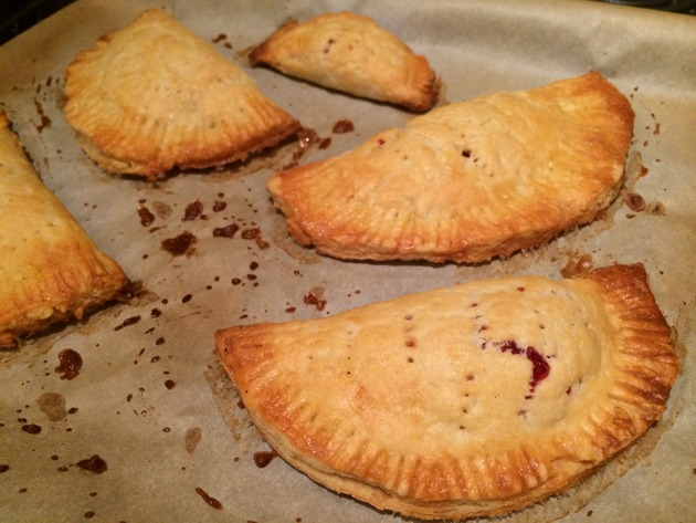 cranberry hand pies by joanie