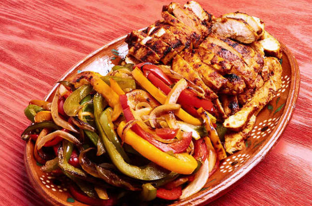 Authentic Chicken Fajitas in Adobo by MexFoodJournal