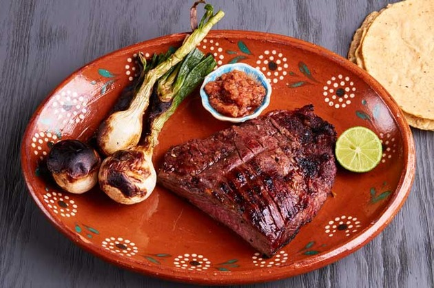 Carne Asada with Garlic Lime Marinade by MexFoodJournal