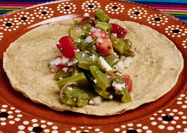 Cactus Salad (Nopalitos) by MexFoodJournal