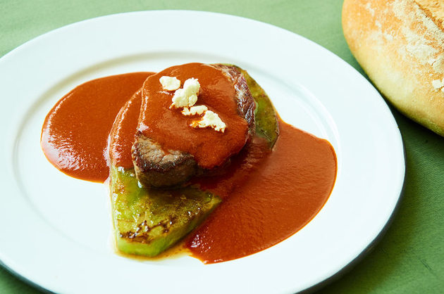 Beef Tenderloin in a Mild Three Chile Sauce by MexFoodJournal