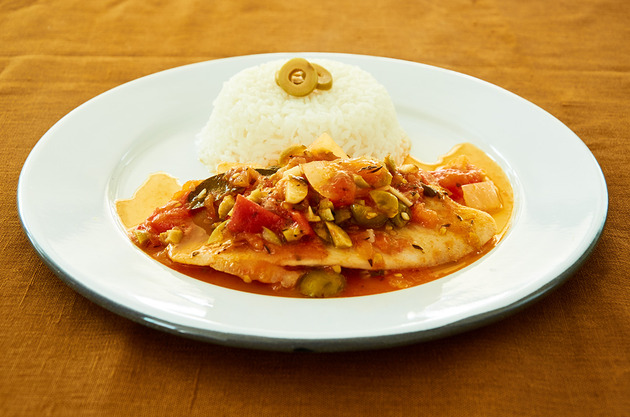White Fish Veracruz Style by MexFoodJournal