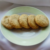 3-Ingredient Peanut Butter Cookies by MyHealthyDessert