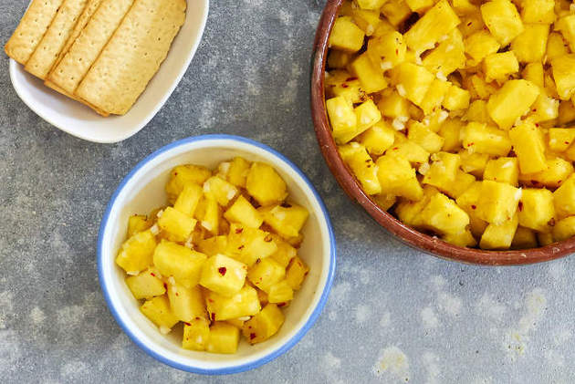 Spicy Pineapple Salad by MexFoodJournal