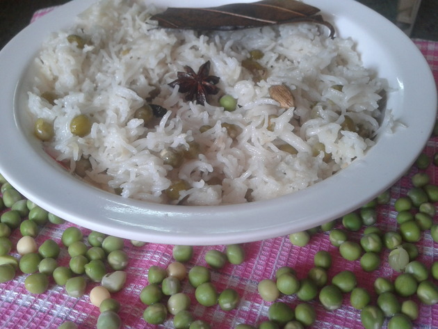 peas pulao recipe, Famous Indian recipes by Famous Indian Recipes
