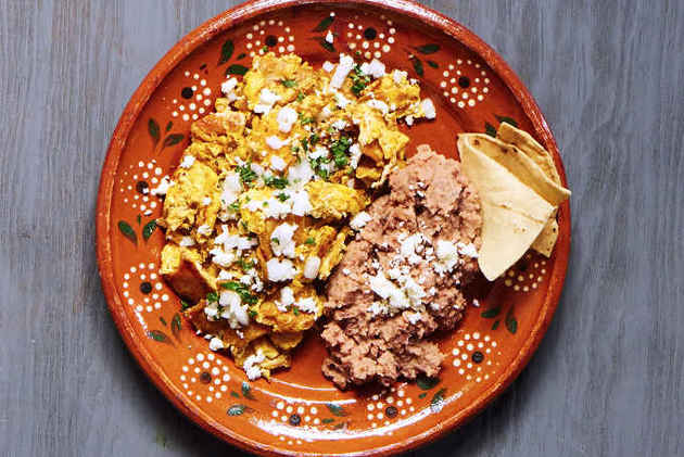 Mexican Style Migas by MexFoodJournal