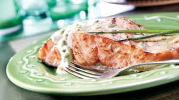 Honey Mustard Salmon Recipe by AnneWalkers