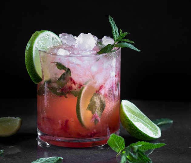 Strawberry Mojito Recipe by Blogtastic Food