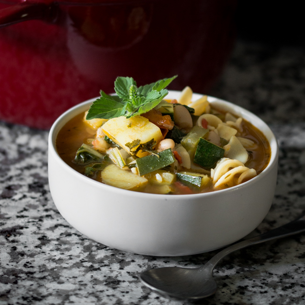 Minestrone Soup Recipe by Blogtastic Food