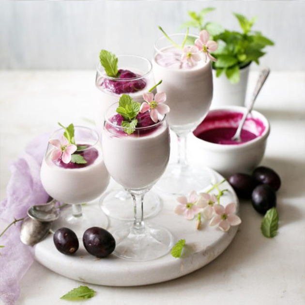 JAMUN/ WILD INDIAN JAVA PLUM MOUSSE by KanikaKatyal