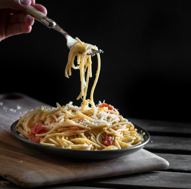 Valentine's Easy Spaghetti Recipe by Blogtastic Food