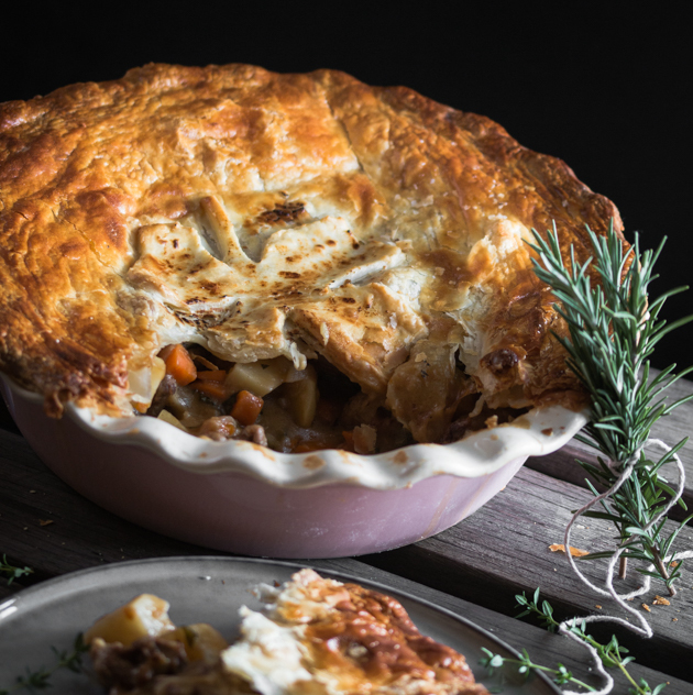 Irish Stew Pie by Blogtastic Food